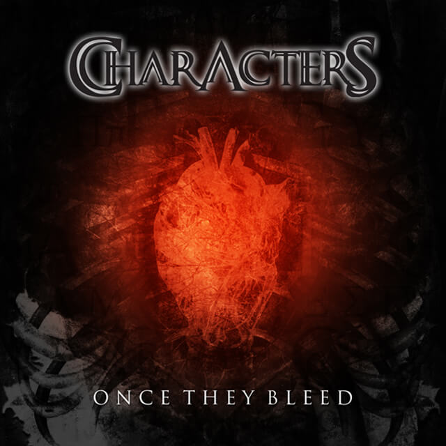 Characters - Once They Bleed (CD Cover).