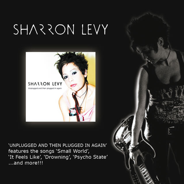 Sharron Levy - Unplugged And Then Plugged In Again (Flyer).
