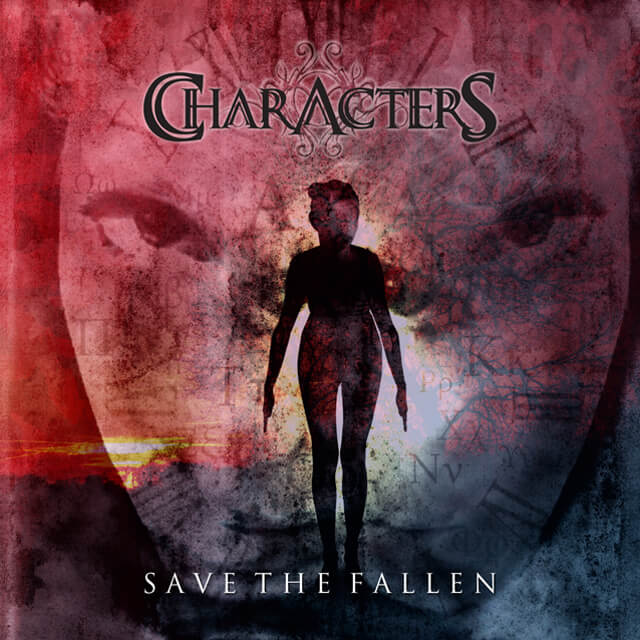 Characters - Save The Fallen (CD Cover).