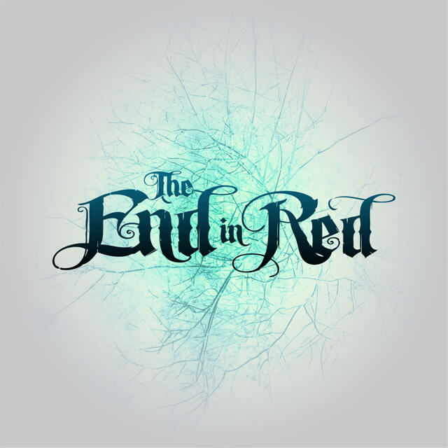 The End In Red (T-Shirt Graphic).