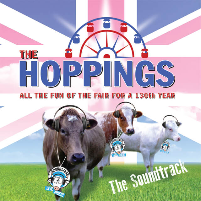 The Hoppings - The Soundtrack (CD Cover).